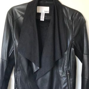 Bar III Faux Leather Jacket - Size S